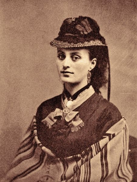 This photo of Louisa Houston, Morgan Earp's wife, has never been published before appearing in Sherry Monahan's new book, Mrs. Earp: Wives and Lovers of the Earp Brothers. The Dedicated Women Behind the Earp Men: