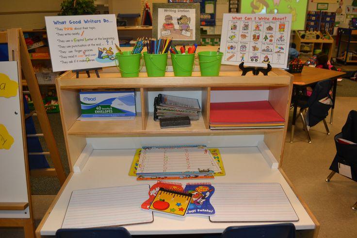 A Kindergarten Writing Center in Action | Scholastic.com