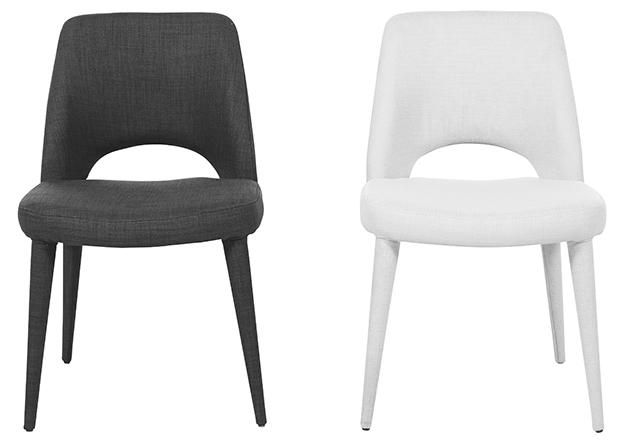 Dining chairs - grey
