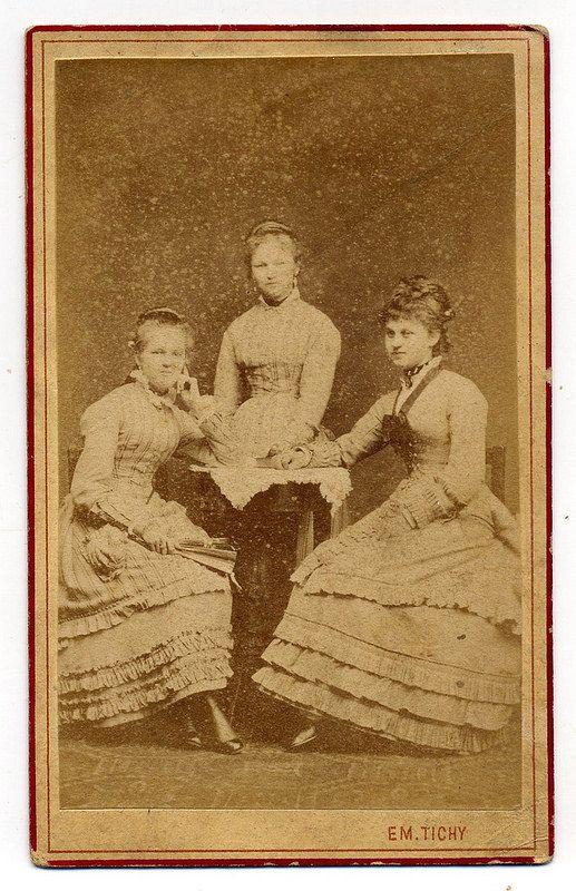 Em. Tichý, Žďár - Three Young Ladies