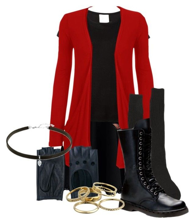 """""""Scarlet witch Marvelbound"""" by alicelilianrose on Polyvore featuring Chicwish, Forte Forte, WearAll, Samantha Holmes, Demonia, Zanellato and Kendra Scott"""