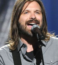 Mac Powell...I could listen to him all day (and have)!  Beautiful, God given voice!