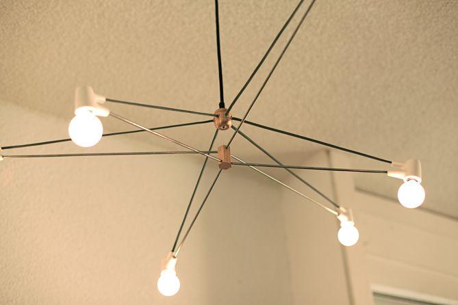 Tensegrity Lamp Google Search Lighting Pinterest Swings And Lights
