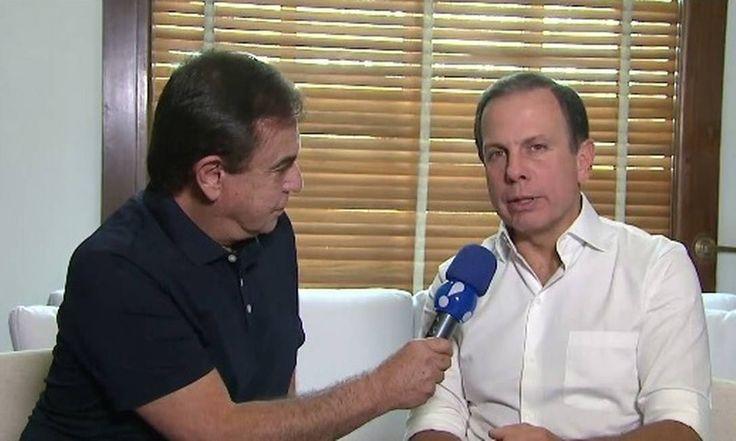 Prefeito de SP diz que pessoas podem cometer delitos para comprar tinta