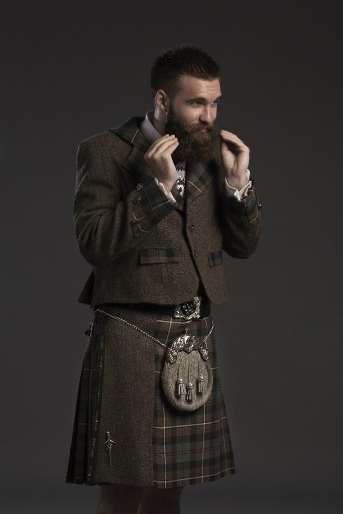 Fashion forward and distinctly beautiful bespoke kilts