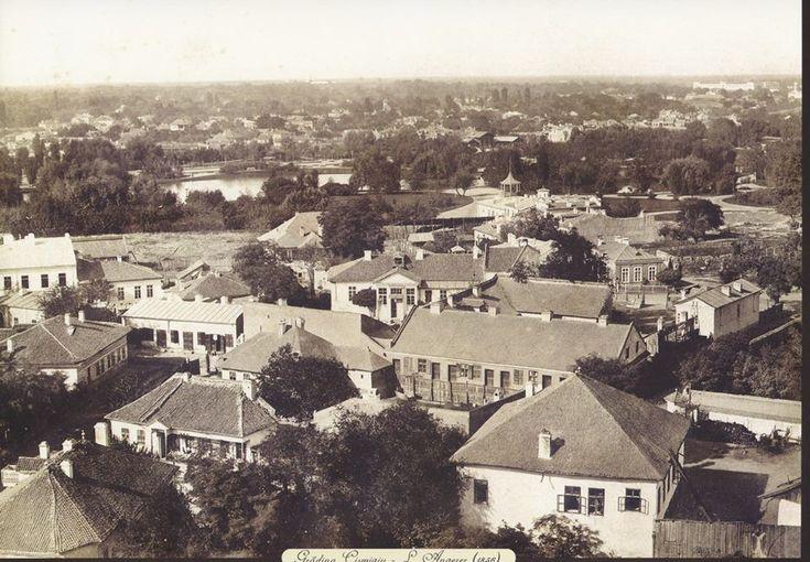 Bucuresti - Gradina Cismigiu in 1856