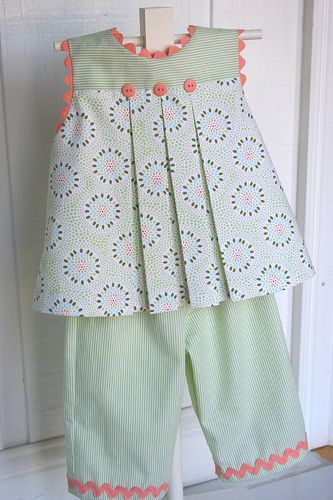 "Children's Corner ""Mallory"" and ""Charlotte"" patterns"
