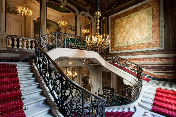 Classical mansion French style XVIII century