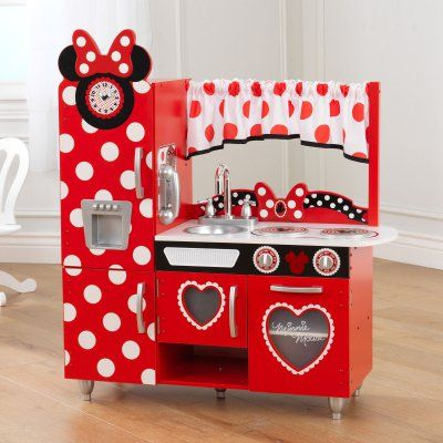 KidKraft Disney Jr. Minnie Mouse Vintage Kitchen - 53371