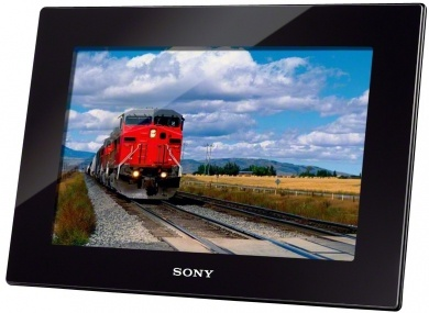 "Sony HD1000 - Ekran LCD 25,7cm (10,1"") WSVGA, filmy HD idźwięk, 2GB pamięci, pilot, energooszczędny programator. http://www.sony.pl/product/dpf-performance/dpf-hd1000"