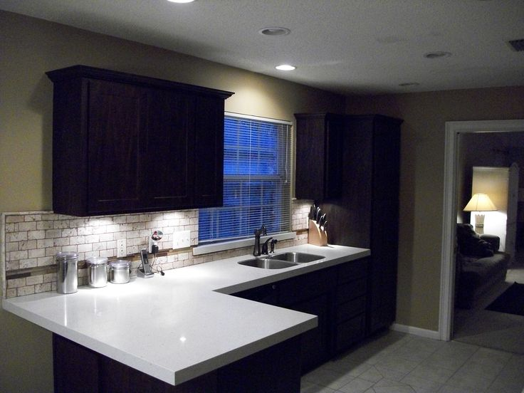 i love how these under cabinet lights not only provide task lighting but also graze the kitchen task ideas t