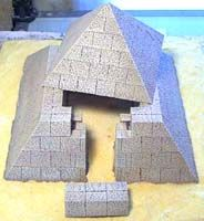 Egyptian Pyramid Building Instructions