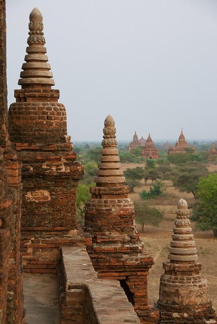 Gubyaukgy Temple, Bagan - Myanmar (Burma)
