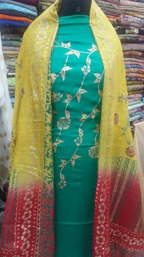 Indian#block printing suit
