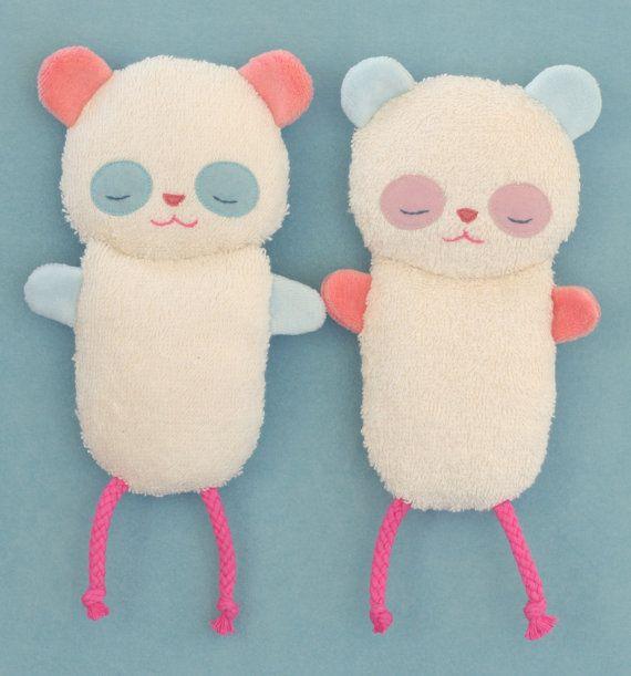 Grasping toy Petiti Panda Baby