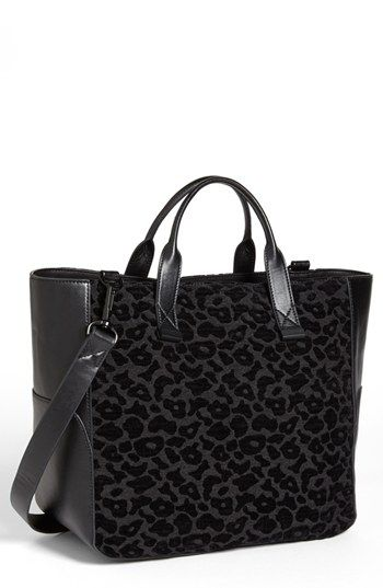 French Connection 'Animal Mania' Tote available at #Nordstrom. Find my coach bag like this to use for class!