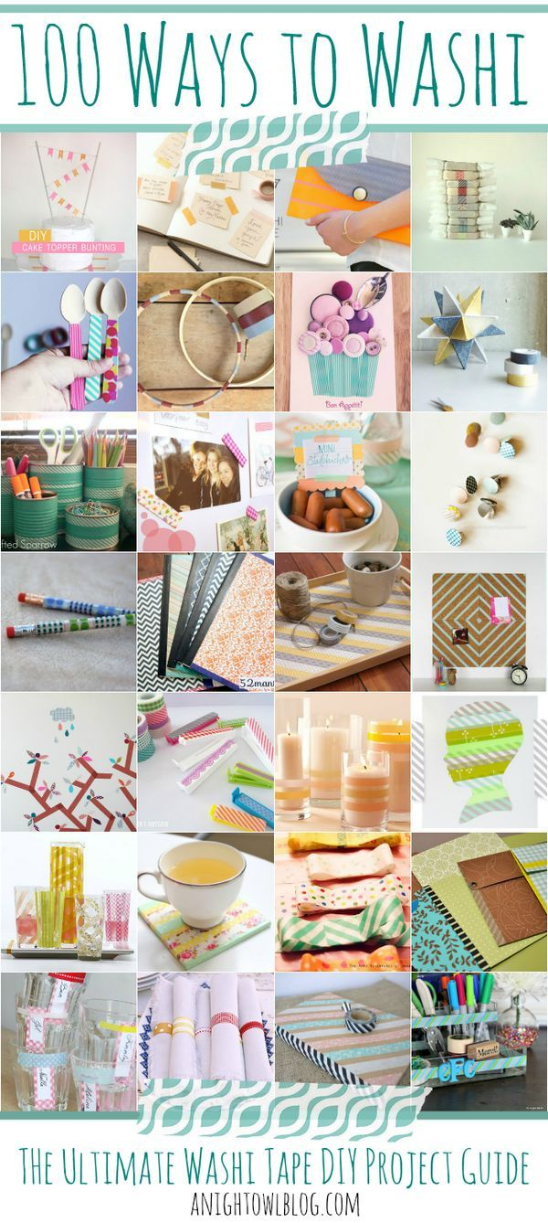 1464 best Washi Tape Projects images on