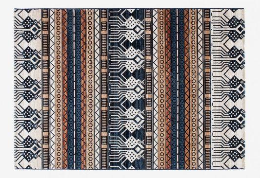 MONOQI | 230x160 Pleione Rug - Dk Blu