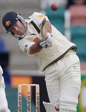 Ponting Career: AUstralian Batsman Ricky Ponting Hits In Hobart