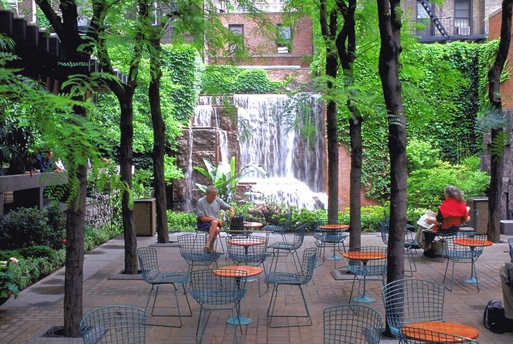 "This tiny park is across from ""my"" hotel in NY.....it is a little piece of heaven -Y"