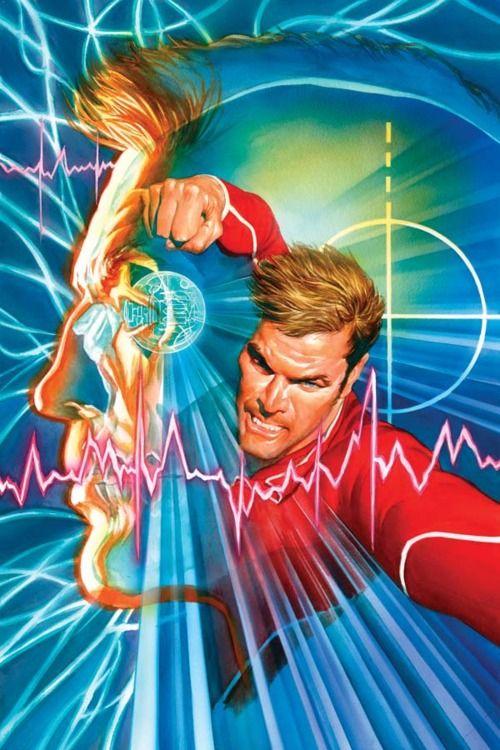 Bionic Man Comic Art - Alex Ross