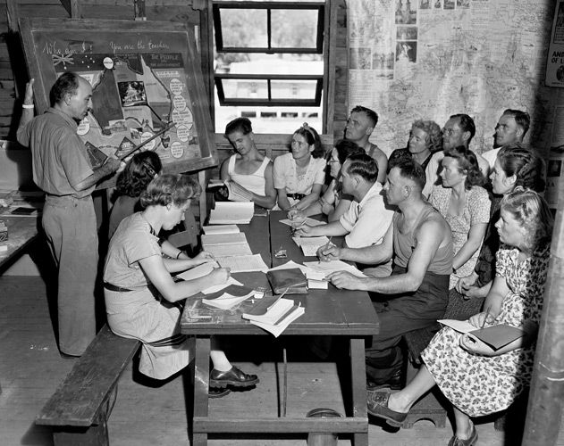 Bathurst Migrant Camp Photos | A Place For Everyone – Bathurst Migrant Camp 1948…