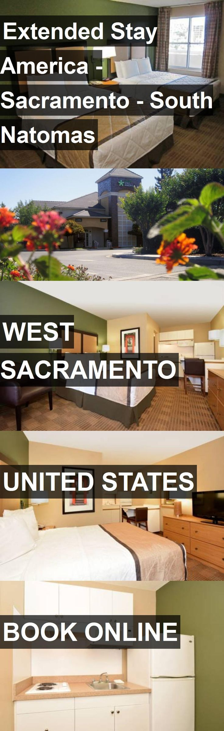 Hotel Extended Stay America - Sacramento - South Natomas in West Sacramento, United States. For more information, photos, reviews and best prices please follow the link. #UnitedStates #WestSacramento #ExtendedStayAmerica-Sacramento-SouthNatomas #hotel #travel #vacation