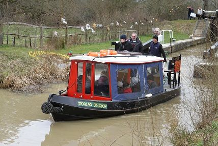 Josiah Jessop is the smallest of our 3 trip boats and can accommodate up to 9 passengers.