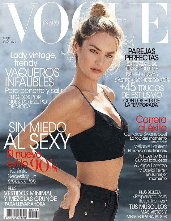 Candice Swanepoel for Vogue Spain April 2013