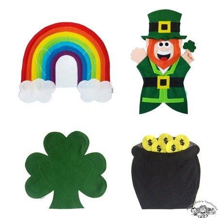 Fantoche Dia de São Patrício / Saint Patrick's Day
