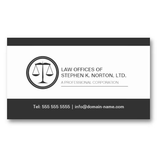 17 best images about professional attorney business cards