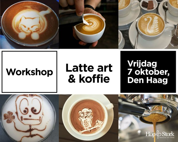 Do you love Latte art?? Learn it yourself during our workshop on Friday, October 7 in The Hague. Book now via: http://hopenstork.com/agenda/