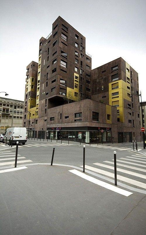 Masséna Housing, Beckmann N'Thépé | Paris | France | MIMOA