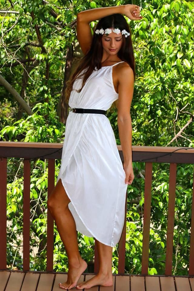 Aphrodite dress in white all sizes available www.lisa-claire.com