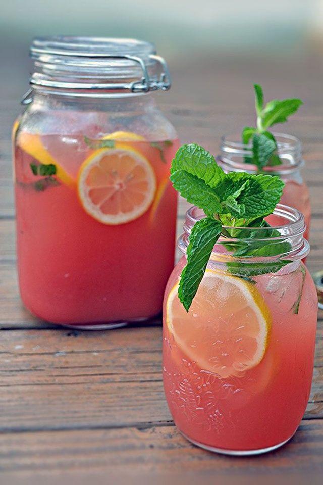 De la limonade à la pastèque pinterest recette idée