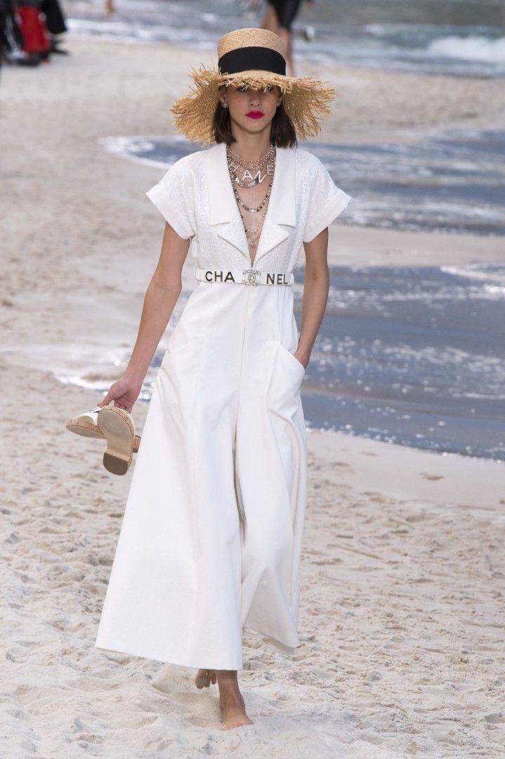 Chanel Spring Summer 2019 RTW Beach Runway Sammlung – #beach #Chanel #Kollektion…