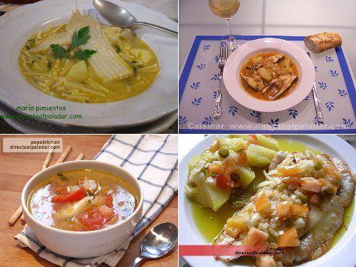 Cómo cocinar pescados y mariscos.