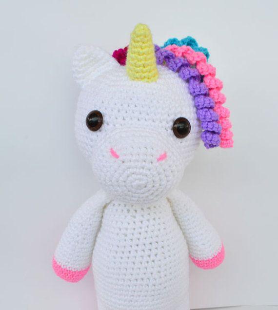 16 best unicornios images on Pinterest | Amigurumi patterns, Crochet ...