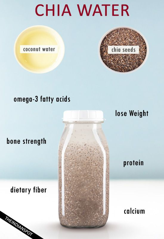 health benefits of chia water and simple recipe #plantbased