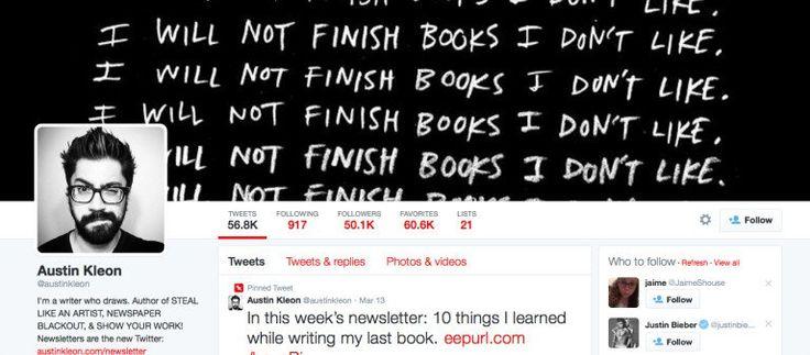 Twitter banner inspiration