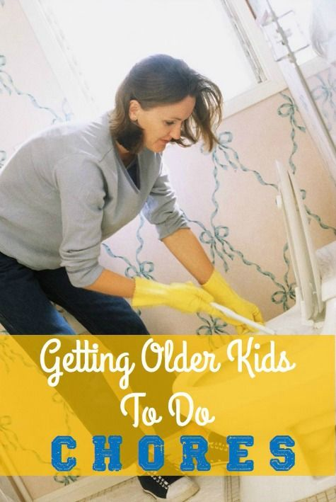 sometimes, getting your kids to do chores requires you to change - not your kids.