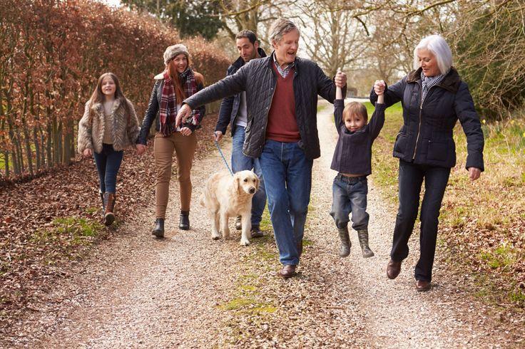 Gern denkt man mit alten Fotos an vergangene, flüchtige Momente zurück. Familienfoto mit Eltern, Grosseltern, zwei Kindern und Hund auf einem Weg mit Herbstlaub. Damit man lange Etwas von den Bildern hat, gibt es Möglichkeiten diese zu scannen und zu digitalisieren. #bildbearbeitung #bilder_digitalisieren Wir zeigen euch, wie ihr eure Bilder richtig scannen und bearbeiten könnt: http://www.fotos-fuers-leben.ch/inspire/momente/alte-fotos-digitalisieren-tipps-und-tricks/