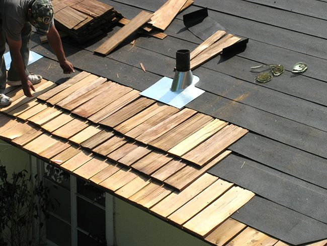 Znalezione obrazy dla zapytania wooden roof do it yourself