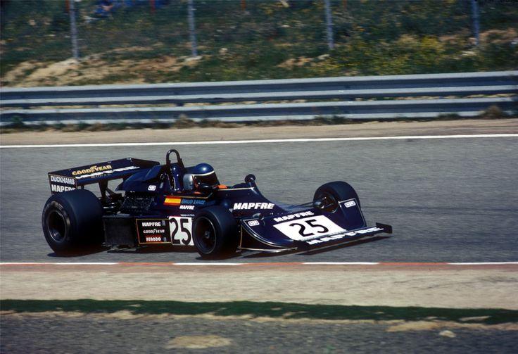 Emilio Zapico, Williams-Ford FW04, 1976 Spanish GP, Jarama