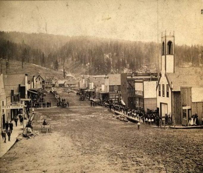 Roslyn, Wa 1889 ~ The World Famous Brick Saloon