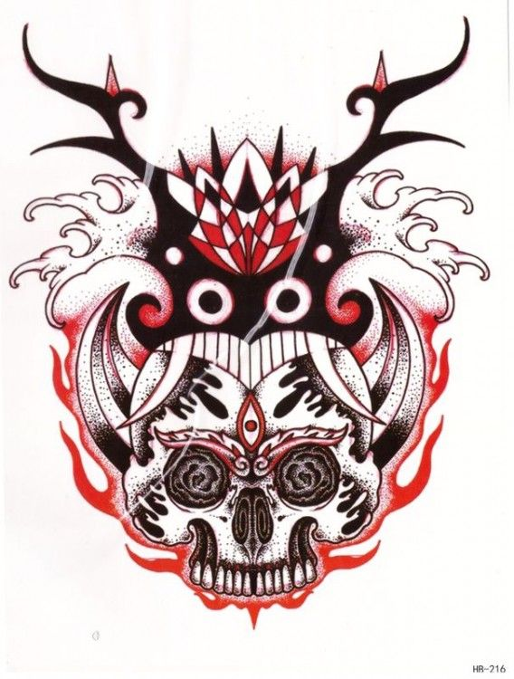 Тату череп и всевидящее око имеет мистическое и интересное символическое изображение. Череп символизирует напоминание о смерти, змея соединяет мир мертвых и живых, олицетворяет цикличность. Всевидящее око - знак космического всезнания и все видения