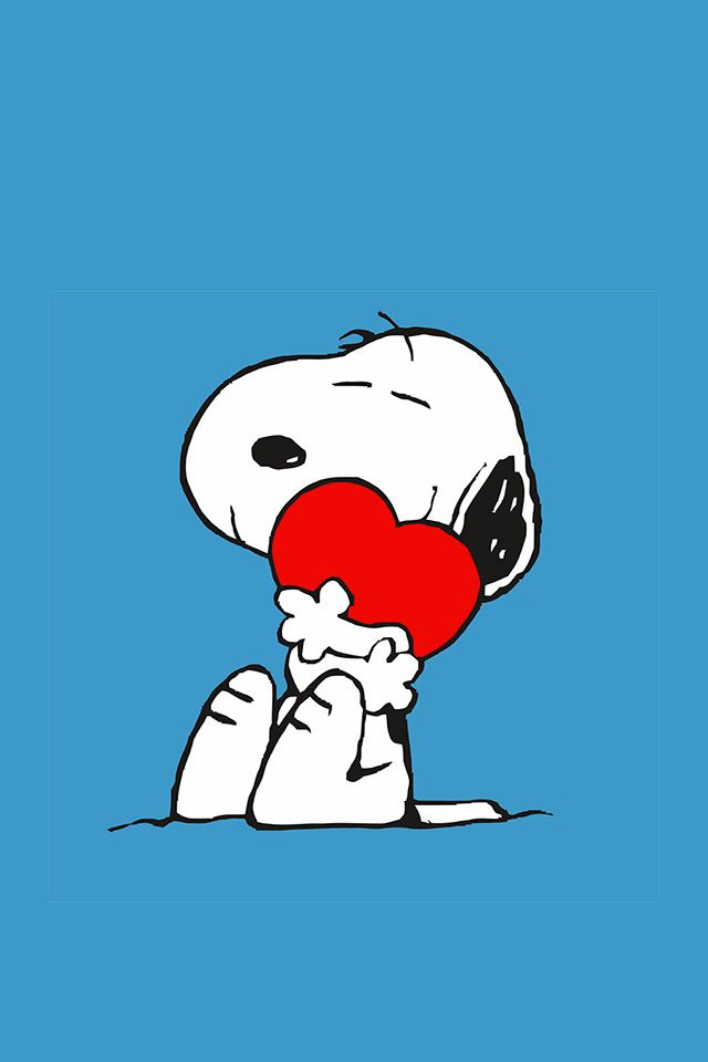 Wallpaper ... By Artist Unknown... | Snoopy wallpaper ... |Peanuts Phone Wallpaper