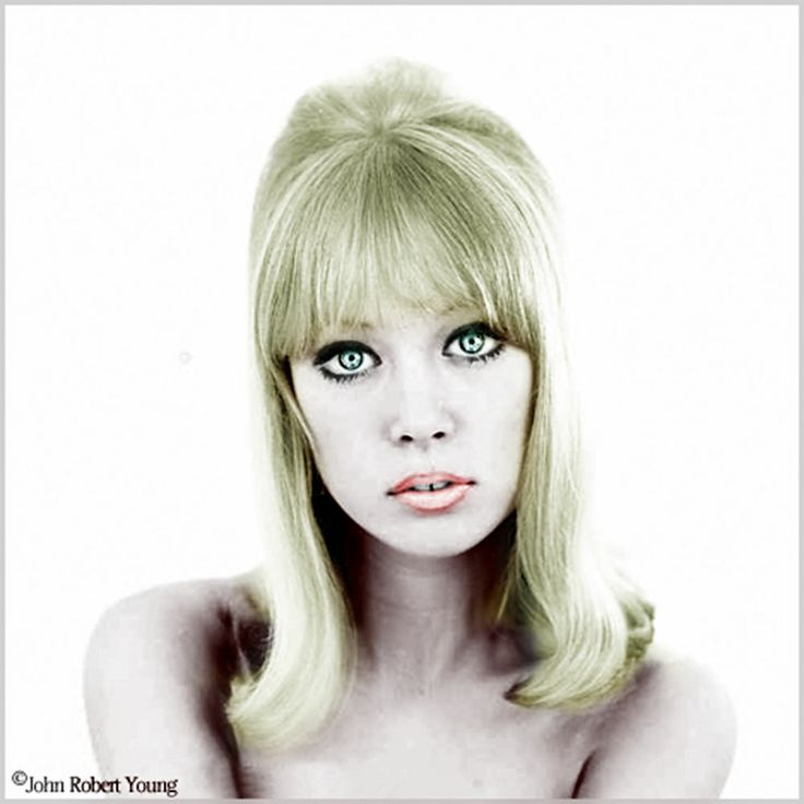pattie boyd famous old actresses with a new look pinterest