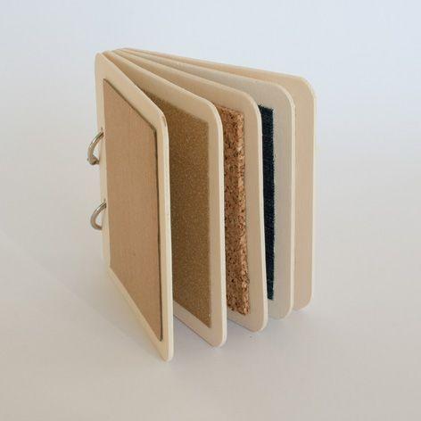 Fabriquer un livre tactile