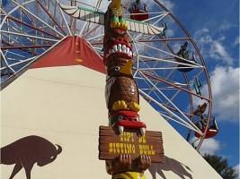 Une journée au Far West ! (parc d'attractions OK Corral) 06/06/2013